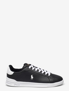 Heritage Court II Leather Sneaker - lave sneakers - black/white pp