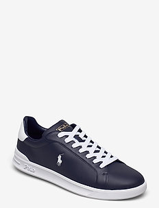 Heritage Court II Leather Sneaker - low tops - newport navy/whit