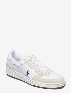 Court Leather-Suede Sneaker - low tops - white/newport nav