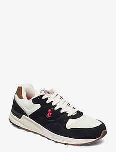 Trackster 100 Suede Sneaker - low tops - black/creme/red p