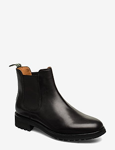 Bryson Leather Chelsea Boot - BLACK