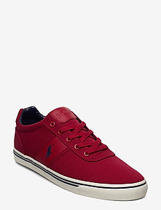Hanford Canvas Sneaker - DEVON RED
