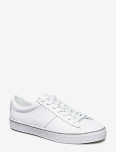 Sayer Leather Low-Top Sneaker - RL WHITE