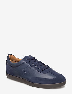 Cadoc Leather-Suede Sneaker - NEWPORT NAVY