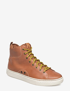 Dleaney Leather Sneaker - POLO TAN