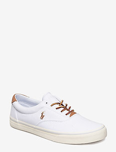 Thorton Canvas Sneaker - WHITE