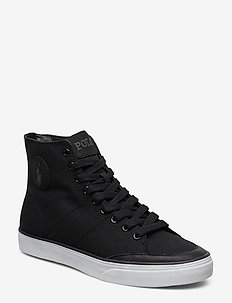Solomon Canvas Sneaker - BLACK