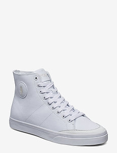 Solomon Canvas Sneaker - WHITE