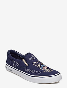 YALE GRAPHIC CANVAS-THMPSNIII NE-SK - NEWPORT NAVY