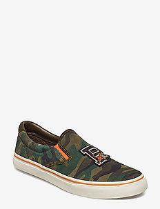 Thompson Camo Suede Sneaker - OLIVE CAMO