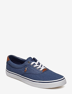 Thorton Washed Twill Sneaker - NEWPORT NAVY