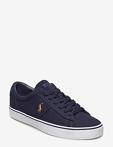 Sayer Canvas Sneaker - AVIATOR NAVY