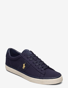 Sayer Canvas Sneaker - lave sneakers - navy/ gold pp