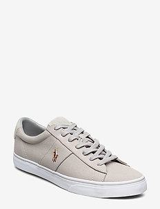 Sayer Canvas Sneaker - low tops - soft grey