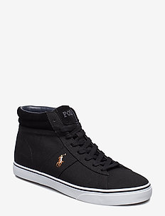 CANVAS-SHAW-NE-SK-VLC - höga sneakers - black