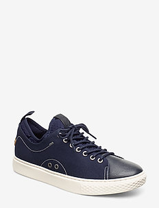 Dunovin Canvas Sneaker - NEWPORT NAVY