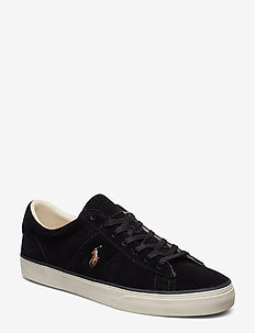 Sayer Leather Low-Top Sneaker - låga sneakers - black