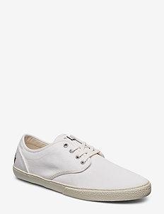 Ethan Canvas Sneaker - WHITE