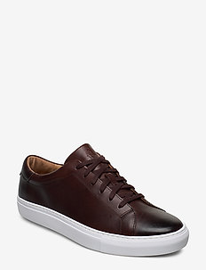 Jermain Leather Sneaker - POLO BROWN