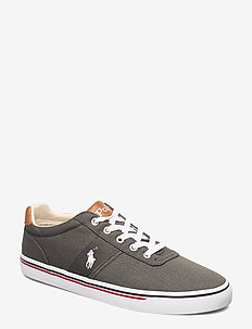 WASHED TWILL-HANFORD-NE - låga sneakers - black/white pp