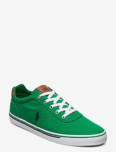 WASHED TWILL-HANFORD-NE - low tops - chroma green/navy