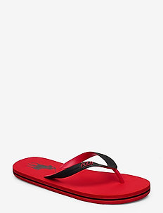 Whitlebury II Flip-Flop - RED/BLACK PP
