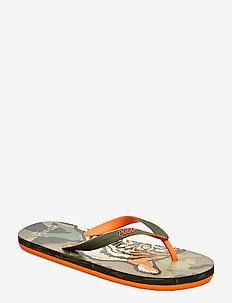 Whitlebury II Flip-Flop - flip flops - tiger camo print