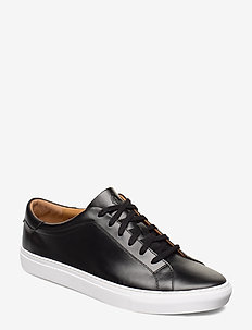 Jermain Leather Sneaker - niedriger schnitt - black