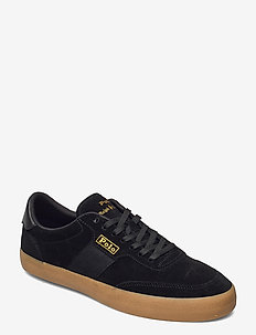 SENIOR SUEDE-CRT VLC-PWNG-SK-VLC - low tops - black