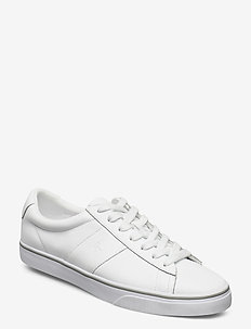 Sayer Leather Sneaker - low tops - rl white