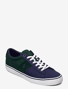 RECYCLED CANVAS-SAYER-SK-VLC - low tops - college green/new