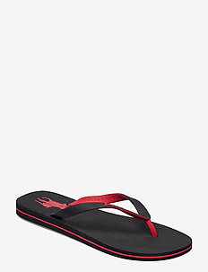 Bolt Pony Flip-Flop - varvassandaalit - black/rl2000 red