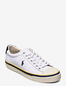 RECYCLED CANVAS-SAYER-SK-VLC - low tops - white/newport nav