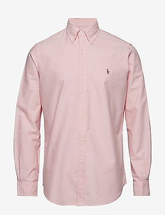 Custom Fit Cotton Oxford Shirt - BSR PINK