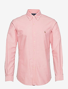 Slim Fit Cotton Oxford Shirt - BSR PINK