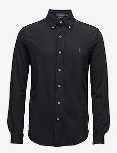 Featherweight Mesh Shirt - POLO BLACK