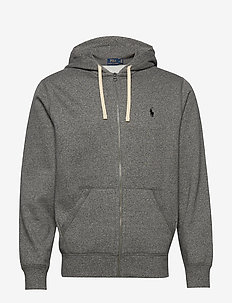 Cotton-Blend-Fleece Hoodie - hettegensere - alaskan heather