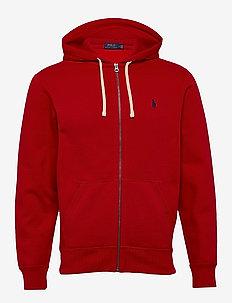 Cotton-Blend-Fleece Hoodie - RL 2000 RED