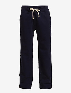 Cotton-Blend-Fleece Pant - CRUISE NAVY