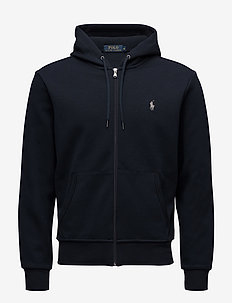 Double-Knit Full-Zip Hoodie - hettegensere - aviator navy