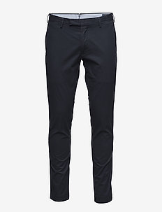 Stretch Tailored Slim Fit Pant - casual broeken - aviator navy