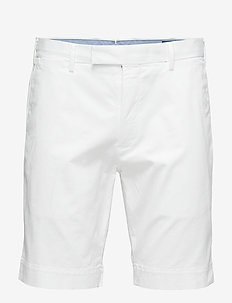 Stretch Slim Fit Chino Short - WHITE