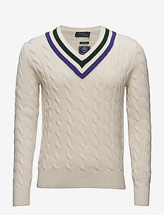 Wimbledon Umpire Sweater - CRICKET CREAM