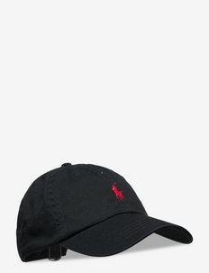 Cotton Chino Baseball Cap - POLO BLACK