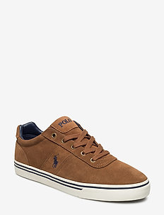 Hanford Suede Low-Top Sneaker - låga sneakers - new snuff