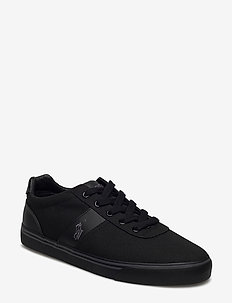 Hanford Canvas Sneaker - låga sneakers - black/char/bck