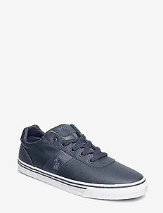 Hanford Leather Sneaker - NAVY