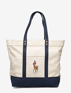 MULTI PP TTE-TOTE-CANVAS - NATURAL/NAVY