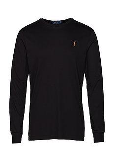 Custom Slim Interlock T-Shirt - POLO BLACK