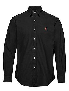 Custom Fit Oxford Shirt - chemises basiques - polo black